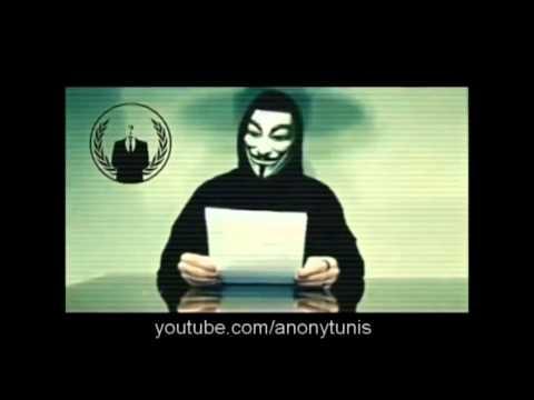 Samedi 18 mai à 20h : Anonymous Tunisie s'attaque au gouvernement