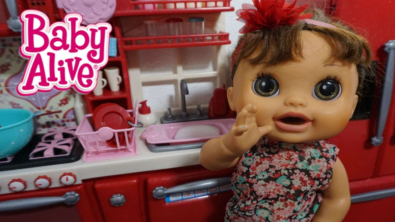 Baby Alive New Kitchen Set For Babies Our Generation Youtube