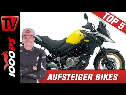 Top 5 Aufsteiger Bikes - Die besten Bikes wenn die 125er doch nicht reicht!