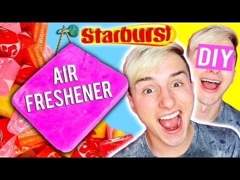 DIY Giant Starburst Air Freshener | Huge Candy Air Freshener
