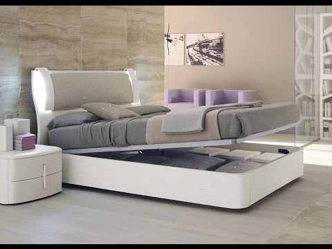 Modern Storage Bed with Drawers Frame Designs - YouTube