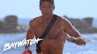 Baywatch Remastered  Opening titles in HD