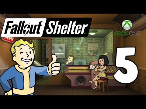 Adding The Radio Studio - Fallout Shelter Xbox One Gameplay - Part 5