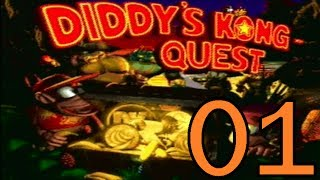 Let's Play Donkey Kong Country 2 102% Part 1