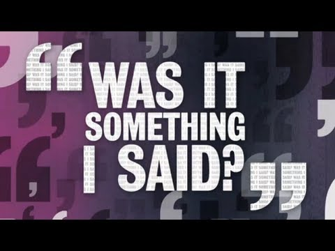 Was It Something I Said S01E03 (HD UNCUT)
