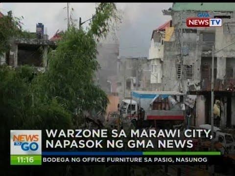 NTG: Warzone sa Marawi city, napasok ng GMA News
