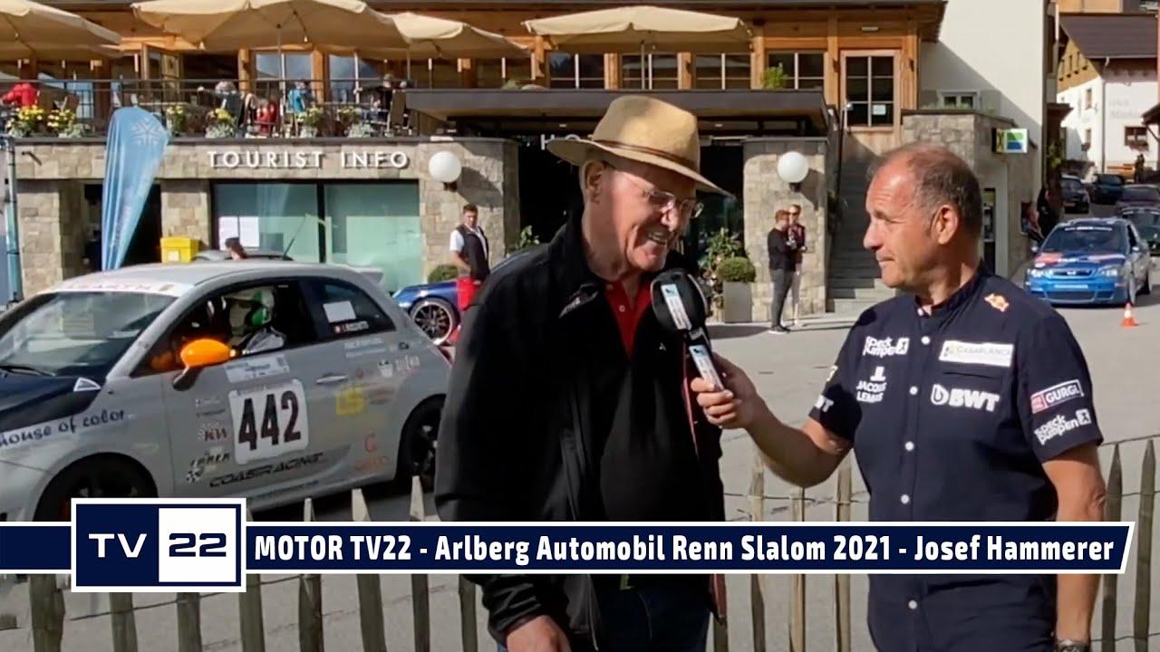 MOTOR TV22: Arlberg Automobil Renn Slalom 2021 - Organisator Josef 'Beppi' Hammerer im Gespräch