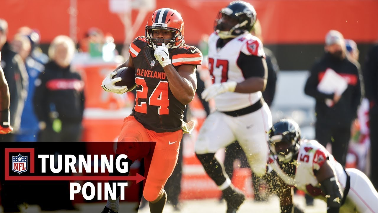 How Nick Chubb's 92-yard Touchdown Led the Browns to a Win in Week 10 | NFL Turning Point