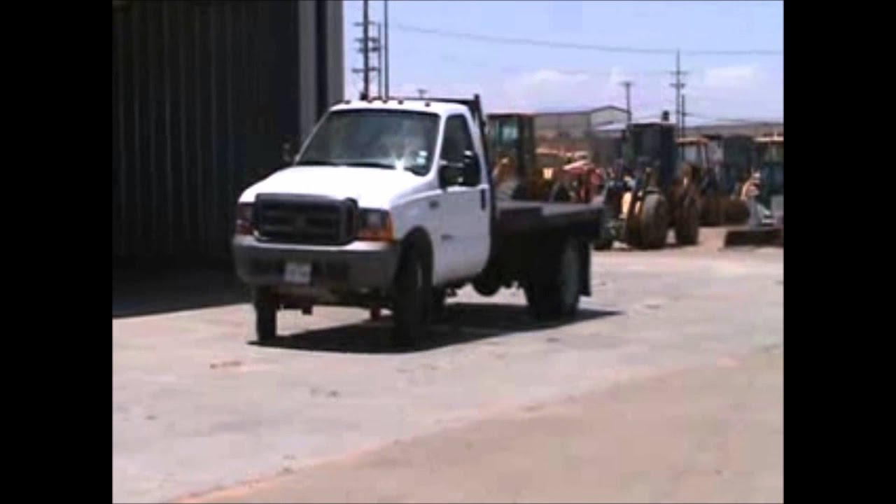 Ford F550 For Sale >> 1999 Ford F550 Super Duty flatbed truck for sale | sold at auction July 31, 2014 - YouTube