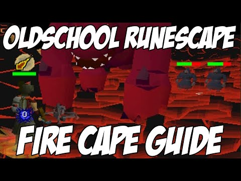 Oldschool Runescape - Fire Cape Guide! | Full In-Depth 2007 Fight Caves Guide | Main / Zerker Guide