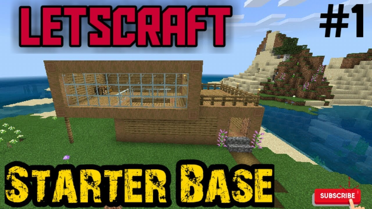 Download Letscraft ep-1 || My starter Base || Mr Craft