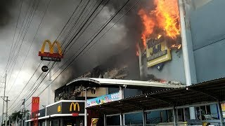 About 37 feared dead as huge fire engulfs mall in Philippines