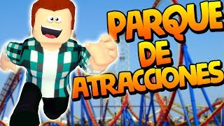 I CREATE MY ATTRACTION PARK ? Roblox gameplay english - THEME PARK TYCOON [KraoESP]
