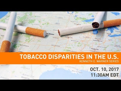 Warner Series: Tobacco Disparities in the U.S.