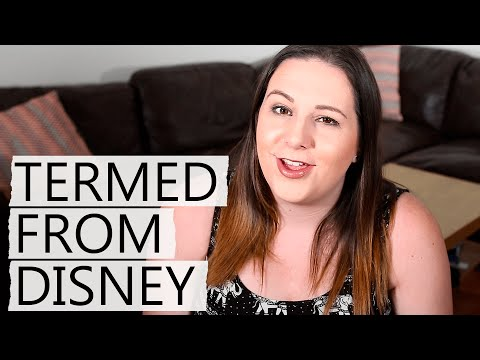 Getting Fired From Disney?   Cast Member Series