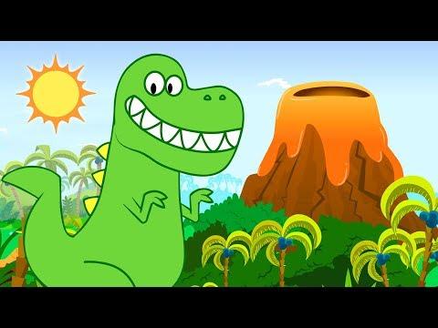 Песенка Динозавров | Развивающие мультики для детей