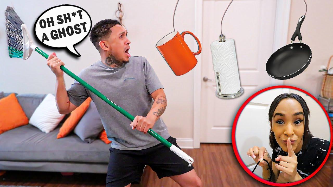 Revenge GHOST Prank On Husband!
