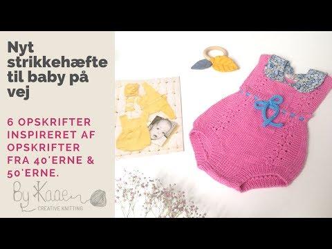Vintage inspireret babystrik (teaser for mit nye strikkehæfte)