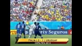Italia vs Uruguay (0-1)   Mundial Brasil 2014   ATV