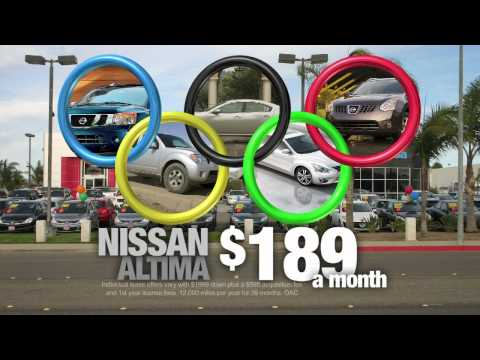Santa Maria Nissan - Olympic Lease - HD