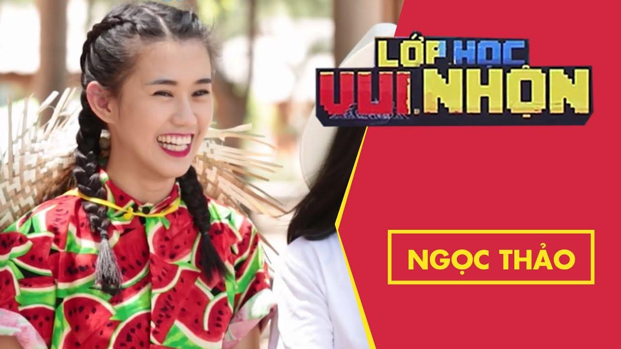 Lớp Học Vui Nhộn 134   Ngọc Thảo   Khởi Động Trên Nhà Sàn   Game Show Hài Hước Việt Nam