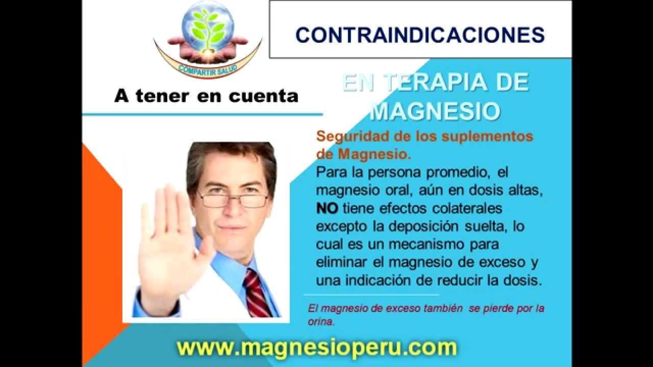 Beneficios del cloruro de magnesio para bajar de peso