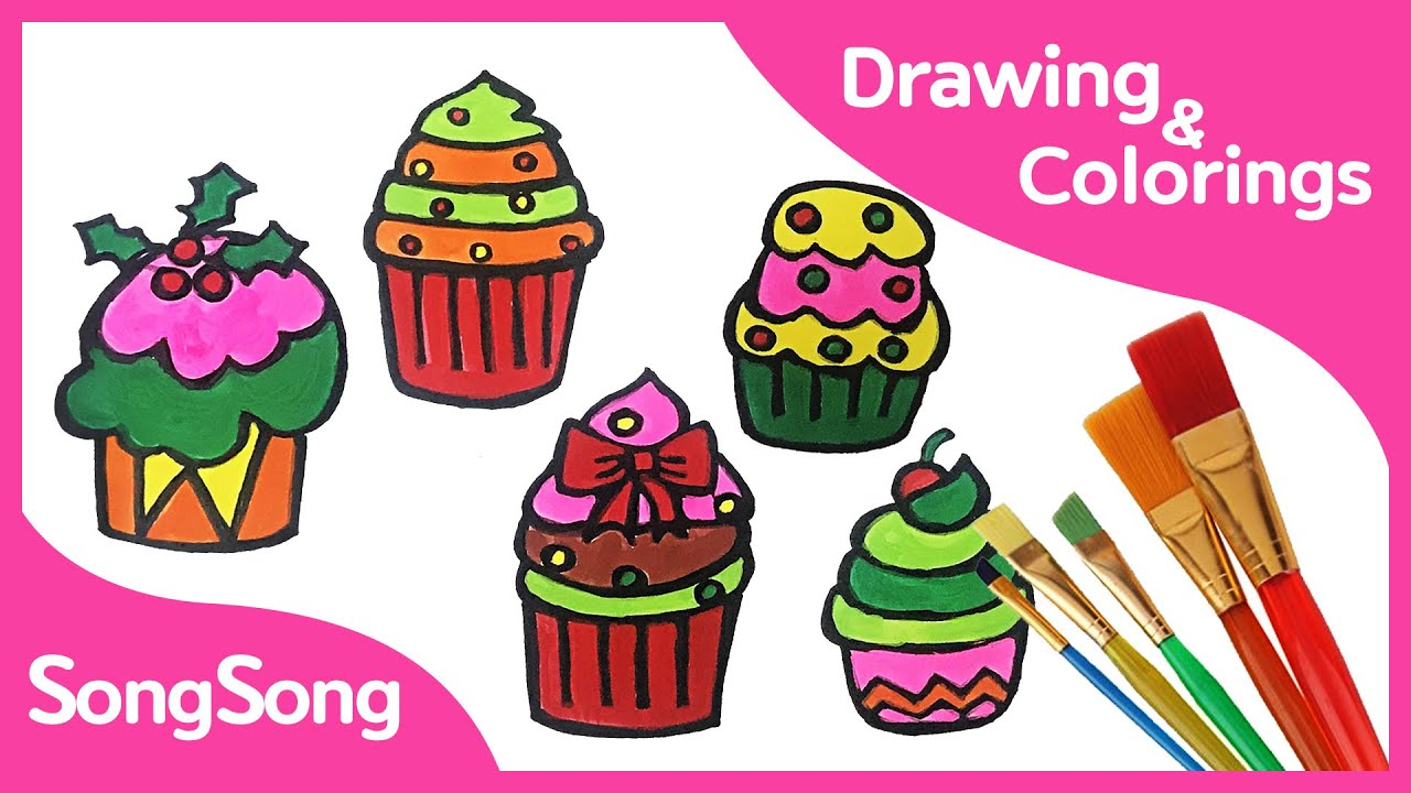 Free Cupcake Coloring Pages - Coloring Home | 720x1280