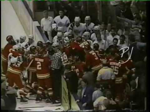 Los Angeles Kings vs. Calgary Flames (3-23-91)