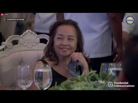 Farewell dinner for Speaker Gloria Macapagal-Arroyo