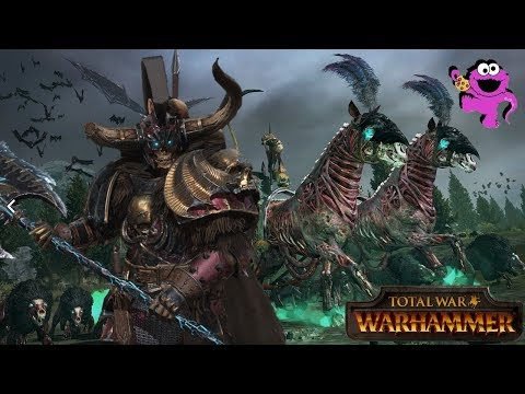 Total War Warhammer - Krell, Lord of Undeath and the Old Friend Gameplay