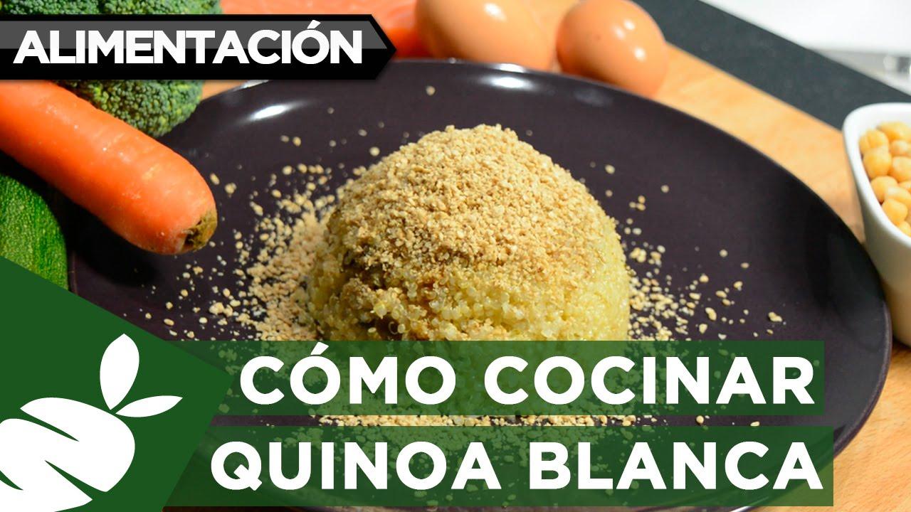 Recetas express c mo cocinar quinoa youtube for Como cocinar quinoa