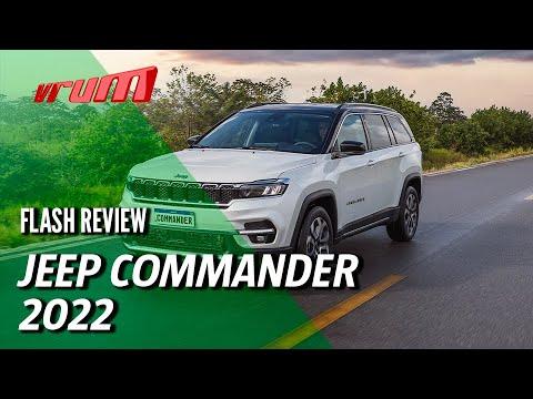 LANÇAMENTO: Novo Jeep Commander! Um 7 lugares 100% BR