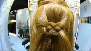 ノットヘアの取説動画です。可愛い、簡単、かぶらない!おすすめのスタ...
