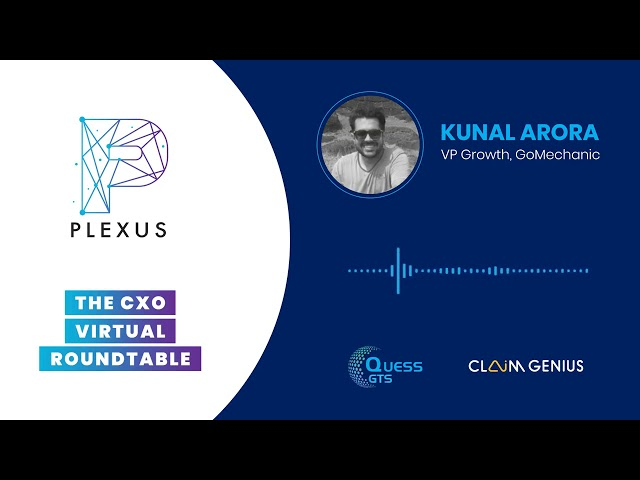 Mr  Kunal Arora's views at Plexus   CXO Round Table organized by Quess GTS