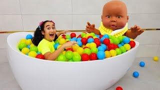 Bath Song Nursery Rhymes Song for kids from - Kids Toys Show