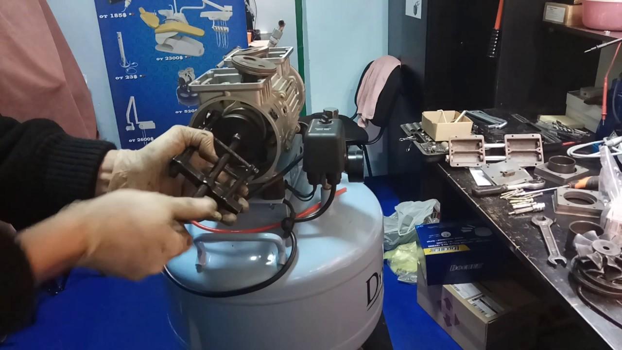 Ремонт стоматологического компрессора - YouTube