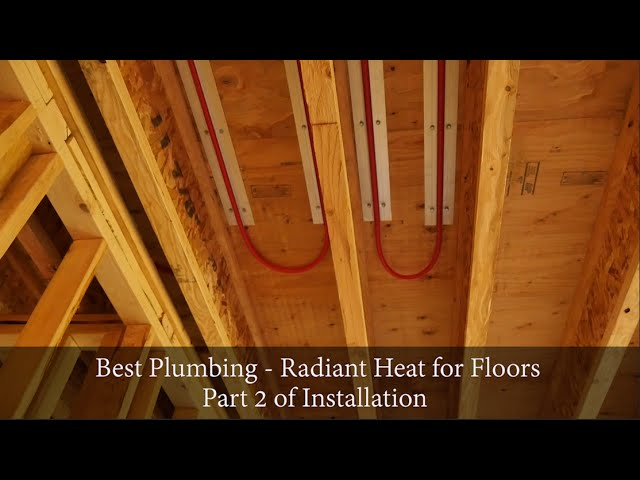 Radiant Heat Flooring Project - Phase 2 by Best Plumbing, Seattle, WA (206) 633-1700