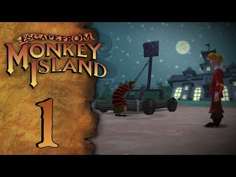 Let's Play Escape from Monkey Island - Episode 1