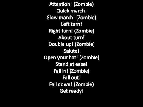 Zombie Fela kuti with lyrics