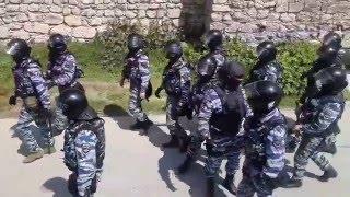 Как проходил обыск и задержание в караван-сарае Салачик г.Бахчисарай 12.05.2016