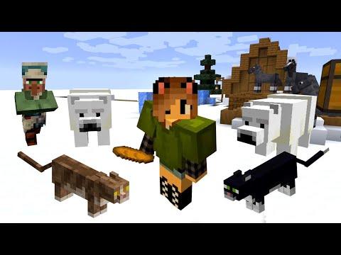 Майнкрафт видео обзор - Выживание со Светой в ледяной пустыне! – Летсплей игры minecraft