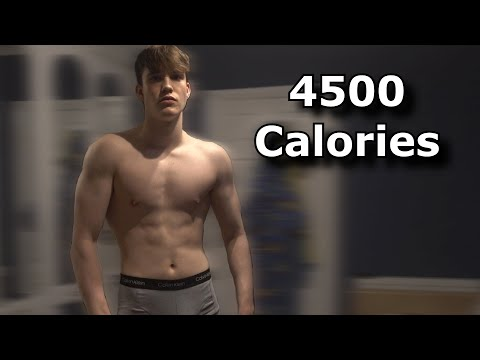 My New and Improved Bulking Diet (4500 Calories) | Skinny Kid Bulking Up- EP:10 thumbnail