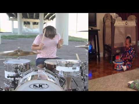 DJ Morr Drums - As Long As You Love Me Drum Cover (Taylor Enzminger)