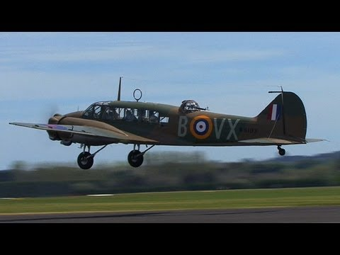 Avro Anson Mk 1: Taxi and takeoff