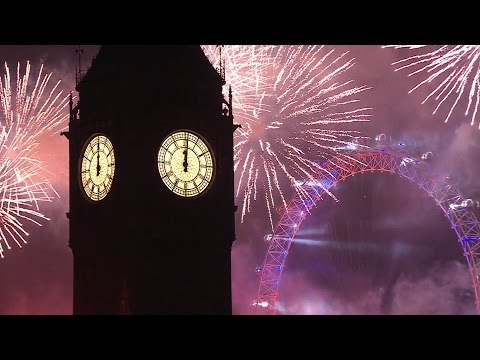London Fireworks 2016 / 2017 - New Year's Eve Fireworks - BBC One