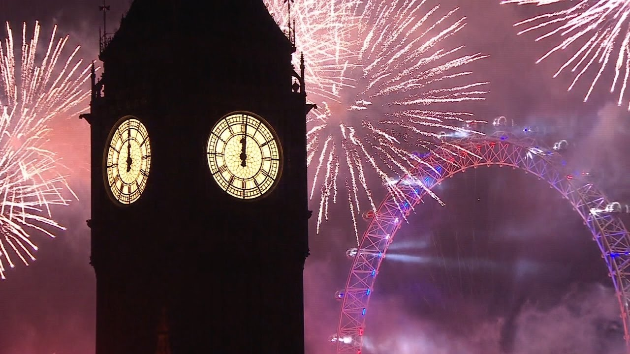 London Fireworks 2016   2017   New Year s Eve Fireworks   BBC One     London Fireworks 2016   2017   New Year s Eve Fireworks   BBC One   YouTube