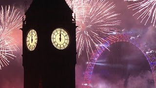 London Fireworks 2016 /2017 - New Year's Eve Fireworks - BBC One