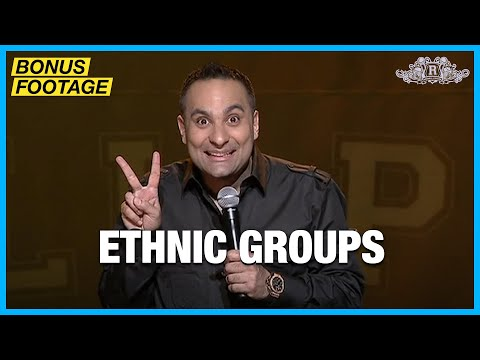 Ethnic Groups | Russell Peters - Red, White, and Brown Tour