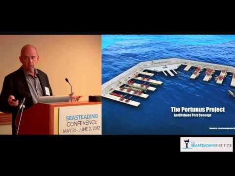 William Reidy on economic viability of large floating structures at the Seasteading Conference 2012