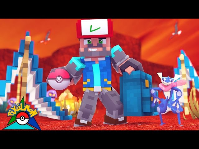 FROGURT THE GRENINJA!!!! [#7] | Minecraft: Pokémon Trinity [Pixelmon]
